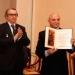 А. Щелкунов передает приветствие от Славянской Академии литературы и искусства
