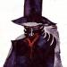 Черный король - рисунок писательницы