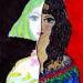 Ящерица молодости - рисунок писательницы