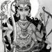 Богиня Кали - рисунок писательницы