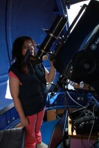Тамара в Обсерватории