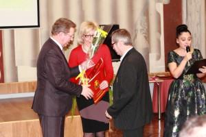 Валентин Баюканский принимает поздравления